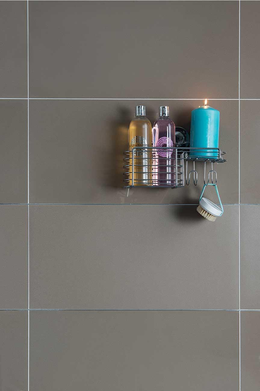 Plain Colour Porcelain - Taupe Matt and Polished 60x30