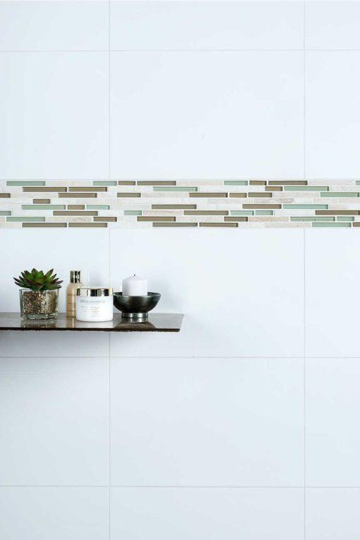 Ceramic Porcelain - White Gloss 45x30