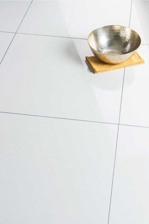 Earthstone Porcelain - White Polished 60x60