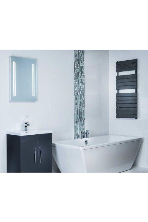 Plain Colour Porcelain - Extra White polished tiles 60cm x 60cm