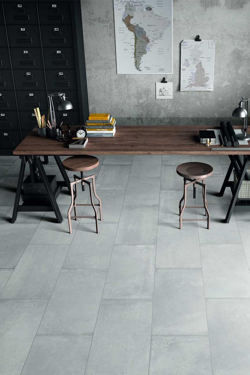 Cement Porcelain Smoke Tile Amp Wood Flooring