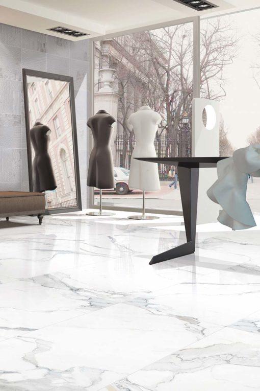 Marble Porcelain - Ariston Gloss - 60 x 60