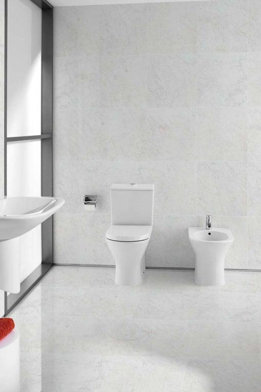 Marble Porcelain - Carrara Gloss 60 x-60