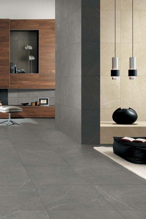Marble Porcelain - Pietra Grey Matt 60 x 60