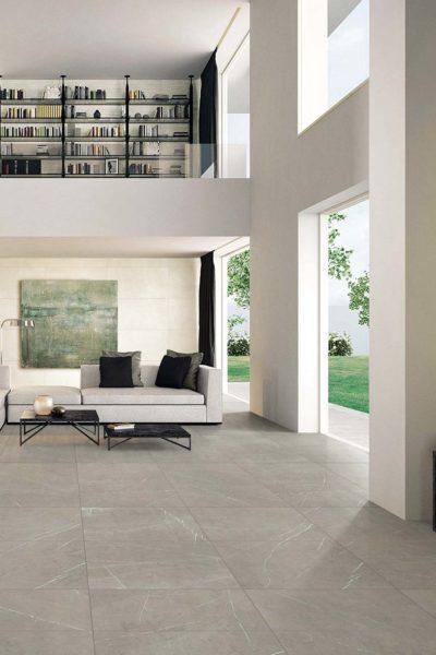 Marble Porcelain - Grey Matt 60 x 60