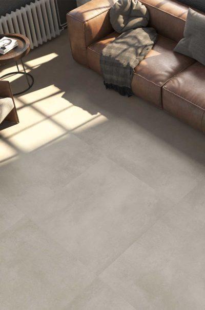 1 Metre x Metre 1800 Gris Matt Porcelain Tile Lifestyle