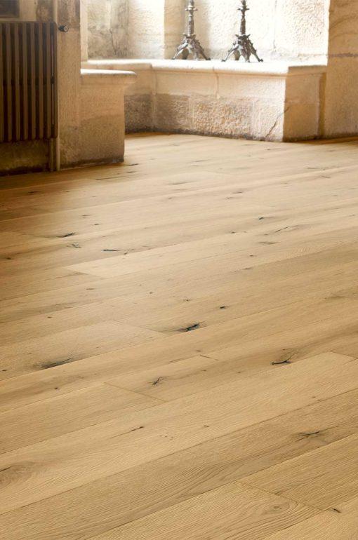 Antique Semi Smoked Oak Wood Flooring