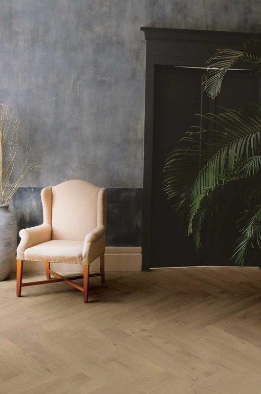 Florence Oak Herringbone Wood Flooring