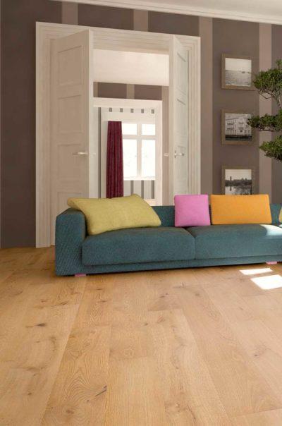 Natural Oak Board Wood Flooring 2