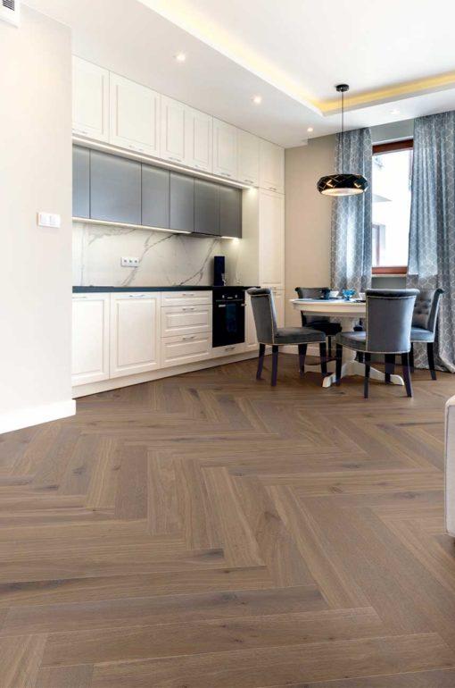 Segovia Oak Herringbone Wood Flooring