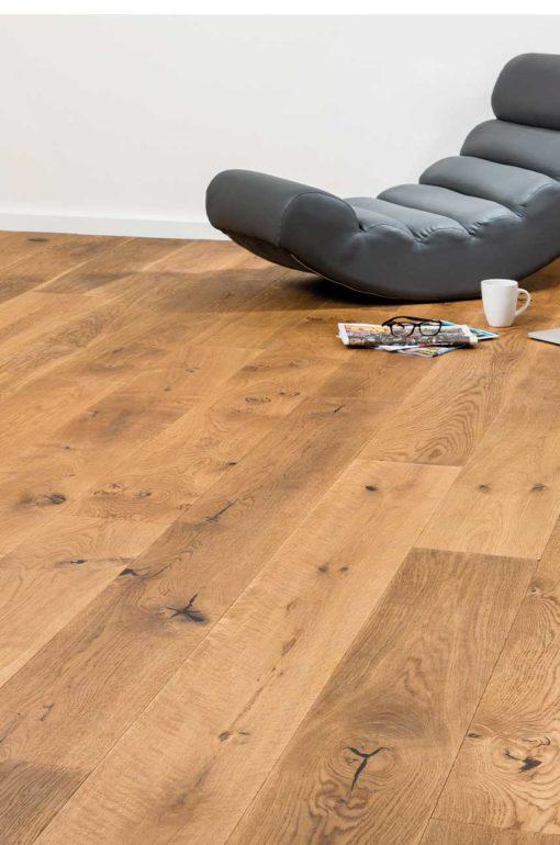 Sierra Semi Smoked Oak Board Wood Flooring