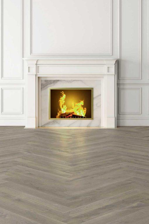 Uluwatu Oak Herringbone Wood Flooring Lifestyle